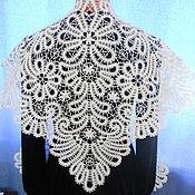 Аксессуары handmade. Livemaster - original item Vologda kerchief, linen.. Handmade.