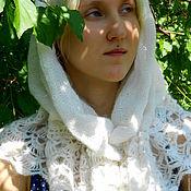 Аксессуары ручной работы. Ярмарка Мастеров - ручная работа капюшон, косынка, платок для храма. Handmade.