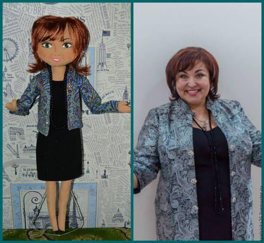 Портретные куклы ручной работы. Ярмарка Мастеров - ручная работа. Купить кукла по фотографии. Handmade. Кукла по фотографии, кукла текстильная