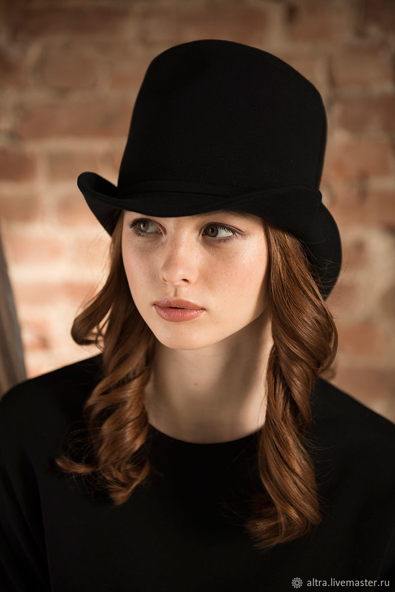 Цилиндр женский, Шляпы, Санкт-Петербург, Фото №1