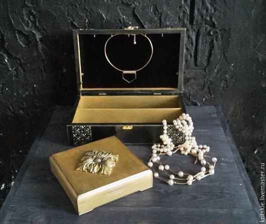 Именная эксклюзивная шкатулка комод для хранения украшений с отделениями на заказ купить в подарок на юбилей, день рождения, годовщину, юбилей