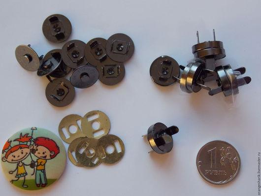 Другие виды рукоделия ручной работы. Ярмарка Мастеров - ручная работа. Купить Кнопки магнитные 14 мм. Handmade.