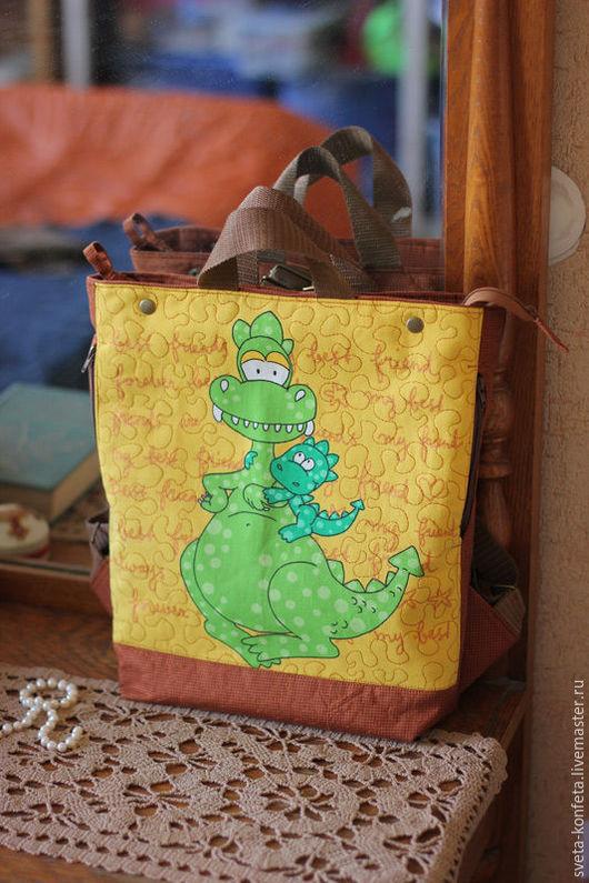 рюкзак-сумка Солнечные драконы