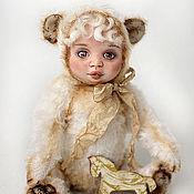 Куклы и игрушки ручной работы. Ярмарка Мастеров - ручная работа Савелий тедди-долл. Handmade.