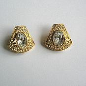 Vintage earrings handmade. Livemaster - original item Vintage Givenchy earrings Givenchy. Handmade.