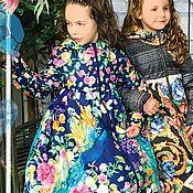 """Пальто ручной работы. Ярмарка Мастеров - ручная работа Пальто """"Секретный сад"""". Handmade."""