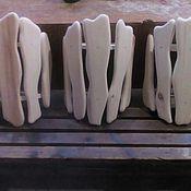 Для дома и интерьера ручной работы. Ярмарка Мастеров - ручная работа Абажуры банные деревянные. Handmade.