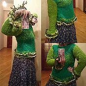 """Одежда ручной работы. Ярмарка Мастеров - ручная работа Свитер """"Deep Forest"""". Handmade."""