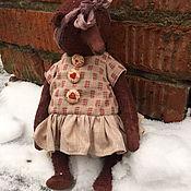 Куклы и игрушки handmade. Livemaster - original item Teddy bear ruby. Handmade.