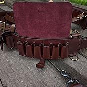 Сувениры и подарки handmade. Livemaster - original item The waist bandolier mod. K24-12, Buttero Alkantara. Handmade.