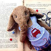 """Куклы и игрушки ручной работы. Ярмарка Мастеров - ручная работа Слоненок """"Джордж"""". Handmade."""