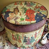Для дома и интерьера ручной работы. Ярмарка Мастеров - ручная работа Echo de la Mode. Шляпная коробка. Handmade.