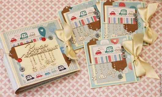 Детские открытки ручной работы. Ярмарка Мастеров - ручная работа. Купить Приглашение на день рождения (детский). Handmade. Голубой, мальчику