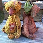 Куклы и игрушки ручной работы. Ярмарка Мастеров - ручная работа Старенькие тедди Фред и Эдди. Handmade.
