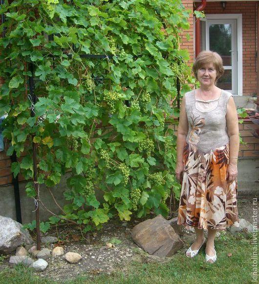 Платья ручной работы. Ярмарка Мастеров - ручная работа. Купить платье валяное. Handmade. Бежевый, платье, летнее платье, шёлк