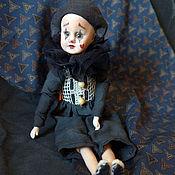 Куклы и игрушки ручной работы. Ярмарка Мастеров - ручная работа Мой бедный мим Пьеро. Старый цирк.. Handmade.