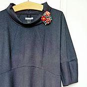 Одежда ручной работы. Ярмарка Мастеров - ручная работа Платье Madame Grise Резерв. Handmade.