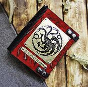Канцелярские товары handmade. Livemaster - original item Notebook of leather. Targaryen. Handmade.