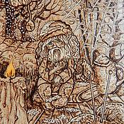 """Картины и панно ручной работы. Ярмарка Мастеров - ручная работа Картина """"Забытый"""". Handmade."""