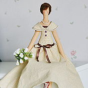 """Куклы и игрушки ручной работы. Ярмарка Мастеров - ручная работа Тильда """"Оттепель"""". Handmade."""