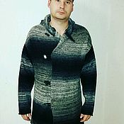 """Одежда ручной работы. Ярмарка Мастеров - ручная работа Кардиган мужской """"Альпийский принц"""". Handmade."""