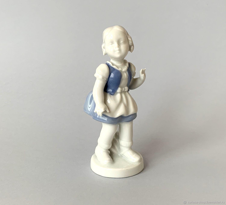 Винтаж: Винтажная статуэтка GEROLD PORZELLAN Германия, Винтажные предметы интерьера, Москва,  Фото №1
