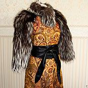 """Одежда ручной работы. Ярмарка Мастеров - ручная работа Пальто с чернобуркой """"Пейсли"""". Handmade."""