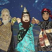 """Куклы и игрушки ручной работы. Ярмарка Мастеров - ручная работа """"Рождество"""" кукольный театр. Handmade."""