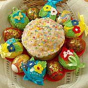 Подарки к праздникам ручной работы. Ярмарка Мастеров - ручная работа Украшение для пасхального яичка. Handmade.