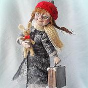 """Куклы и игрушки ручной работы. Ярмарка Мастеров - ручная работа Авторская кукла  """"За мечтой!.."""". Handmade."""