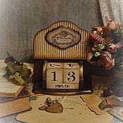 """Корзины ручной работы. Ярмарка Мастеров - ручная работа Вечный календарь """"Шармель""""-2. Handmade."""