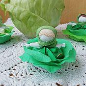 Куклы и игрушки handmade. Livemaster - original item Doll Cabbage talisman profit. Handmade.