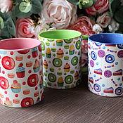 Посуда handmade. Livemaster - original item Author`s mug