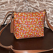 Сумки и аксессуары handmade. Livemaster - original item Model 120 crossbody Bag: Women`s leather shoulder Bag. Handmade.