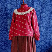 Одежда handmade. Livemaster - original item A COUPLE OF FOLK. Handmade.