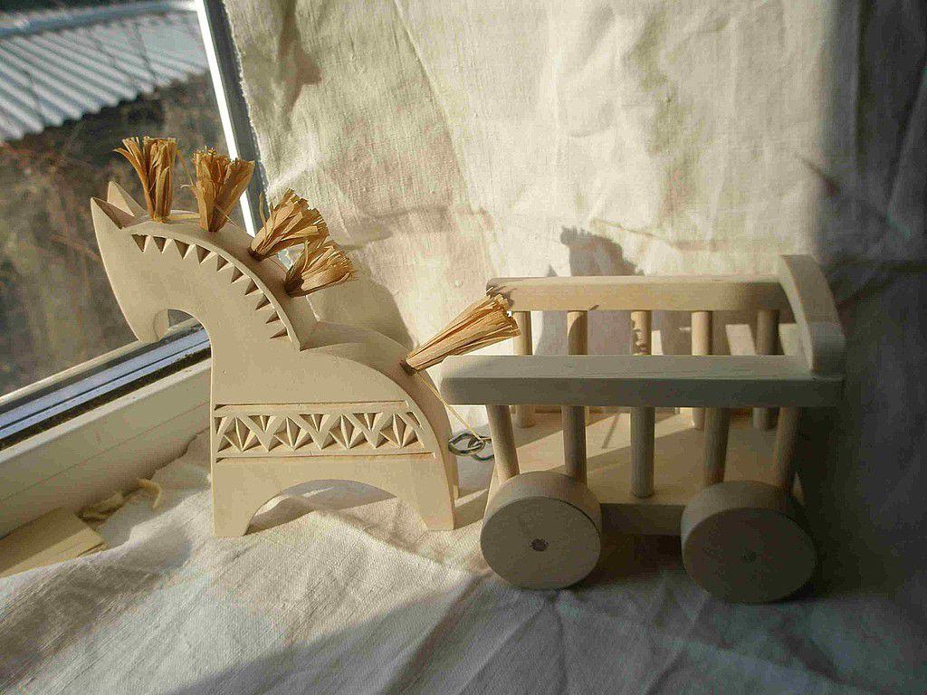 Деревянная игрушка своими руками лошадка