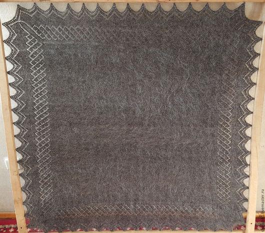 Шали, палантины ручной работы. Ярмарка Мастеров - ручная работа. Купить платок. Handmade. Однотонный, подарок маме