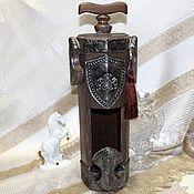 Сувениры и подарки handmade. Livemaster - original item Bottle case Rusich. Handmade.