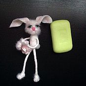 Куклы и игрушки ручной работы. Ярмарка Мастеров - ручная работа Зайка грусняшка. Handmade.
