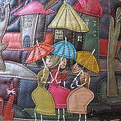 Сумки и аксессуары ручной работы. Ярмарка Мастеров - ручная работа сумка  Энергия уютного города. Handmade.