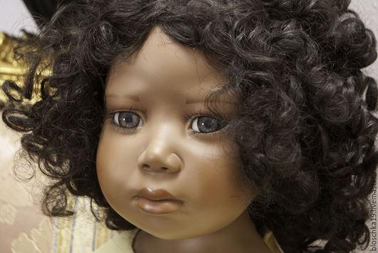 Винтажные куклы и игрушки. Ярмарка Мастеров - ручная работа. Купить Кукла Девочка Halloween бисквитный фарфор чернушка красавица. Handmade.