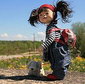 Куклы и игрушки ручной работы. Ярмарка Мастеров - ручная работа Дорога к морю. Handmade.