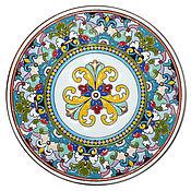Посуда ручной работы. Ярмарка Мастеров - ручная работа Тарелка декоративная керамическая.260мм. Handmade.