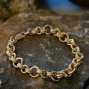 Украшения handmade. Livemaster - original item Bracelets of red and lemon gold 585 ring. Handmade.