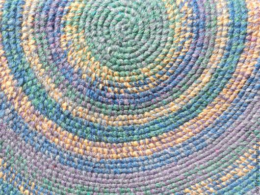 Текстиль, ковры ручной работы. Ярмарка Мастеров - ручная работа. Купить Деревенский коврик.. Handmade. Разноцветный, половик, текстиль для дома