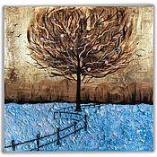 Картины ручной работы. Ярмарка Мастеров - ручная работа Картина маслом «Зимние яблоки». Handmade.