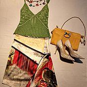 """Одежда ручной работы. Ярмарка Мастеров - ручная работа Юбка """"Смелым на заметку"""". Handmade."""