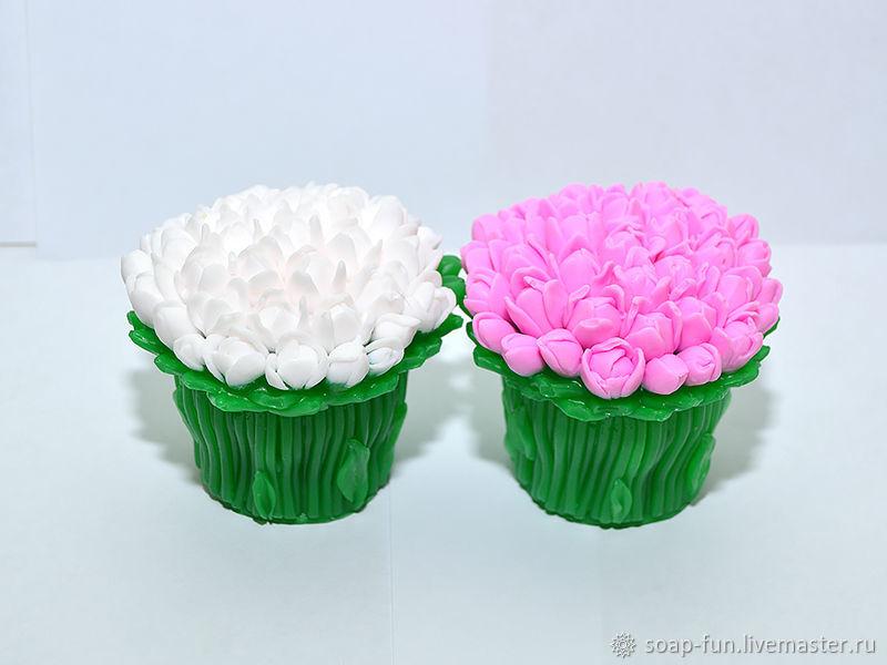 Мыло Букет тюльпанов на 8 марта, Мыло, Москва,  Фото №1