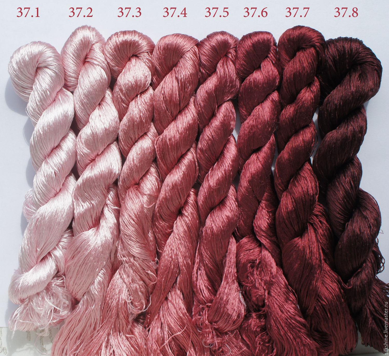 Шелковые нитки для вышивания 80