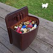 Сувениры и подарки handmade. Livemaster - original item Open belt cartridge bag mod. CP 100, 12 caliber. Handmade.